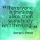 Quote_SomebodyNotThinking_GeorgePatton