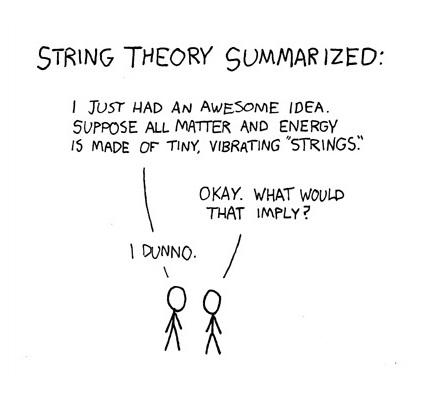Bloggat om String Theory in a Nutshell