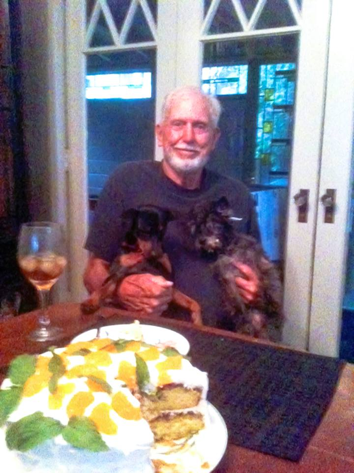 Harold with Charlie and Jake